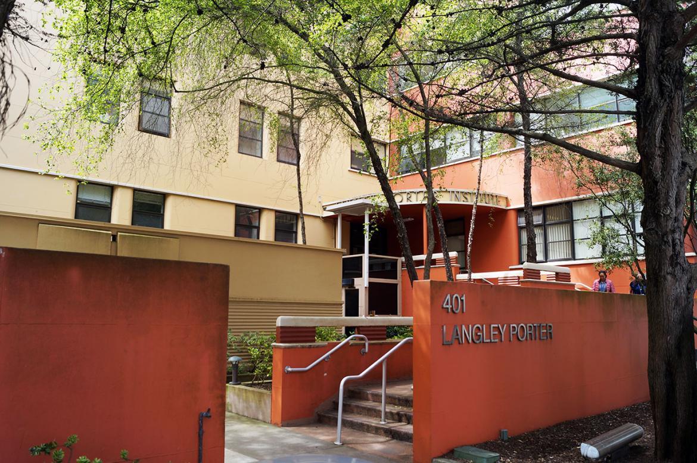 Langley Porter Psychiatric Hospital and Clinics entrance