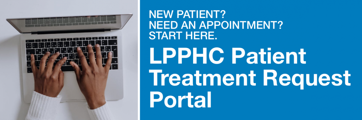 LPPHC Patient Treatment Request Portal