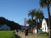 Runners at Crissy Field