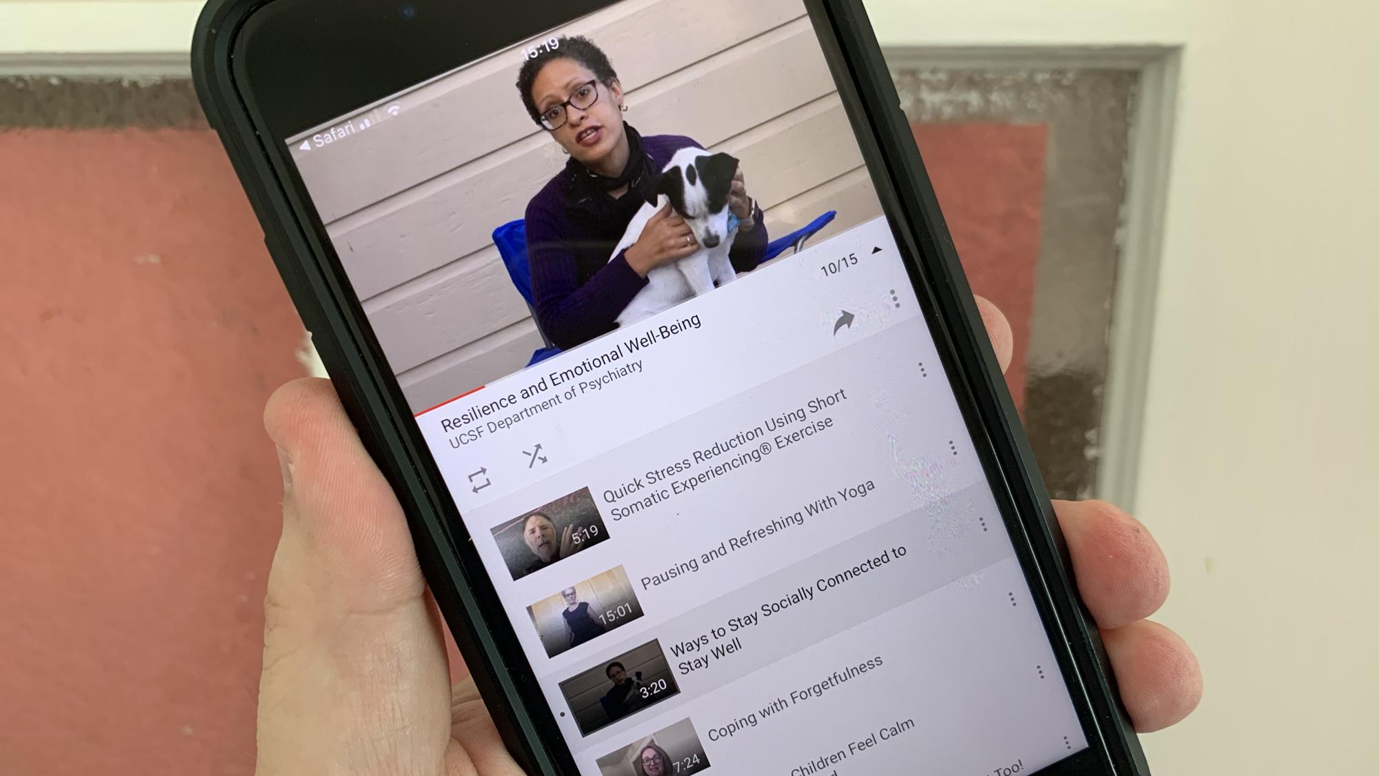 Videos on phone